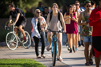 Biking to Campus