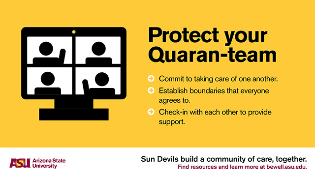 Protect your Quaran-team.