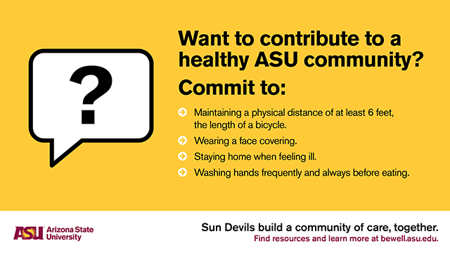 Want to contribute to a healthy ASU community?